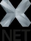 X-Net Logo grau
