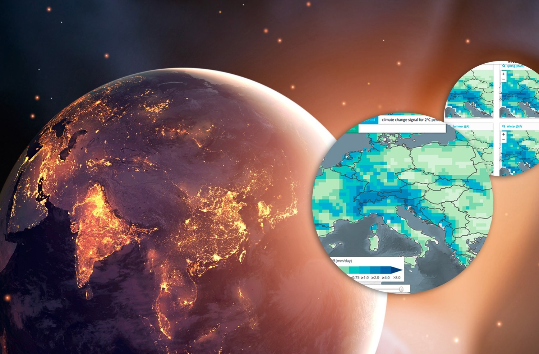 impact2C - Klimaatlas