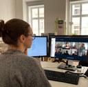 Videokonferenz Karin