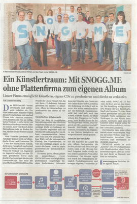 SNOGG.ME Upper Austrian Newspaper